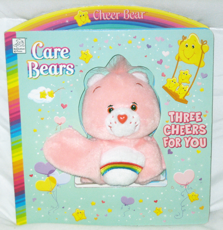 "CBPSB -  9"" Care Bears Plush Story Book (12pcs @ $2.00/pc)"