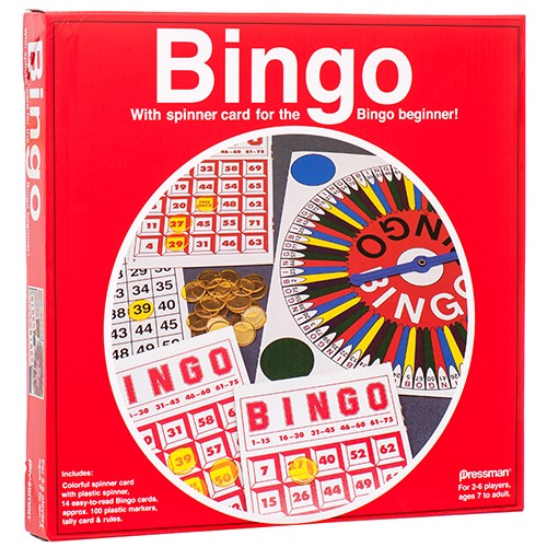 CJ100371 - Toy Bingo Play Set (6pcs @ $6.95/pc)