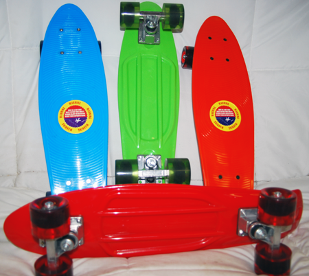 "CZSKATPENNY - Asst Color 22"" ""Penny"" Replica Skateboards w Soft Retro Wheels (each @ $20.00/pc)"