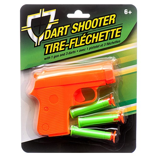 CJ164240 - Toy Dart Shooter on Card (24pcs @ $1.20/pc)