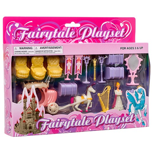 CJ165469 - TOY FAIRY TALE PLAYSET (12pcs @ $4.95/pc)