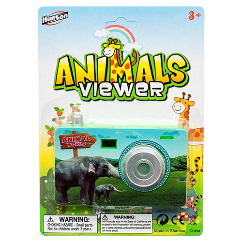 CJ178889 - TOY CAMERA ANIMAL VIEWER (48pcs @ $1.15/pc)