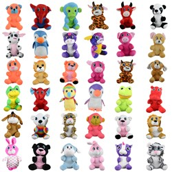 Item# A11G110MIX4 - Small 100% Generic Plush Kit 7''-8'' (144 pcs @ $1.29/pc)
