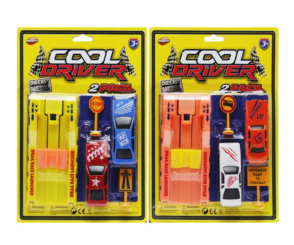 Item# KK24358 - 5 PCS DRAG RACER SET (36pcs @ $1.25/pk)