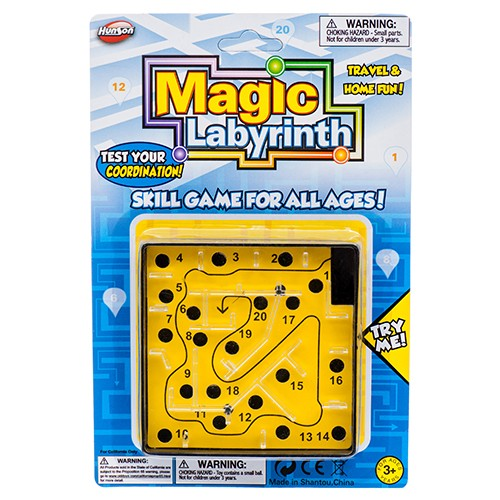 CJ25296 - TOY MAGIC LABYRINTH GAME SET (24pcs @ $1.35/pc)