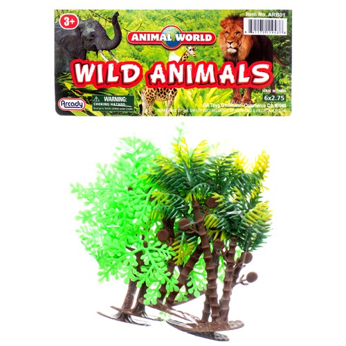 Item# CJ28798 - 6pc Tree Play Set (48pks @ $1.30/pk)