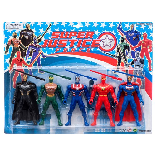 Item# CJ29158 - Hero Playset (12pks @ $8.80/pk)