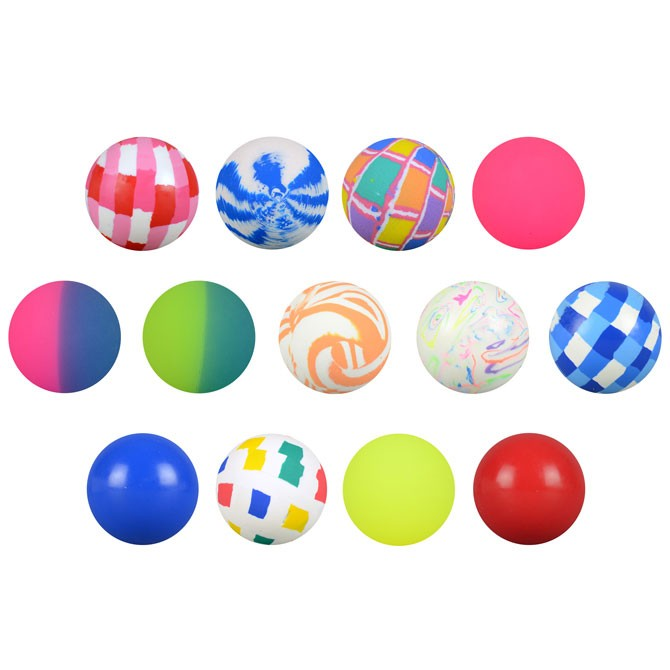 Item# A149MIB - 49mm Mixed Hi-Bounce Balls (40 pcs @ $0.50/pc)