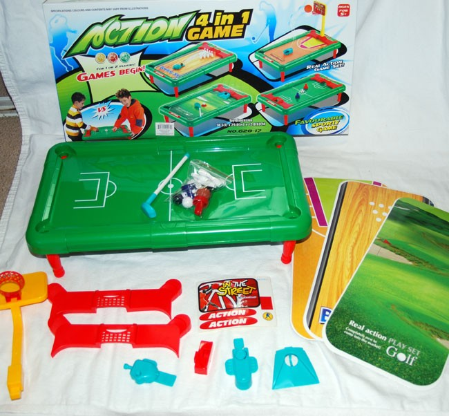 "4IN1  -   24"" Large Boxed 4 in 1 Game Set (each @ $12.50/pc)"