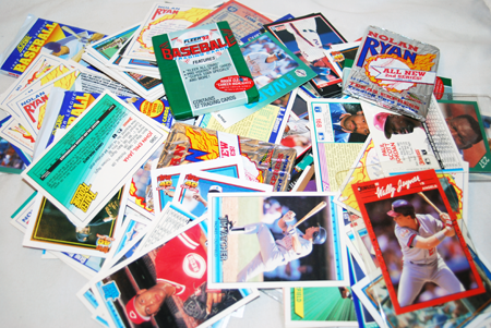 BBC33 - Asst Lot Of Baseball Cards Various Years (500pcs @ $0.02/pc)
