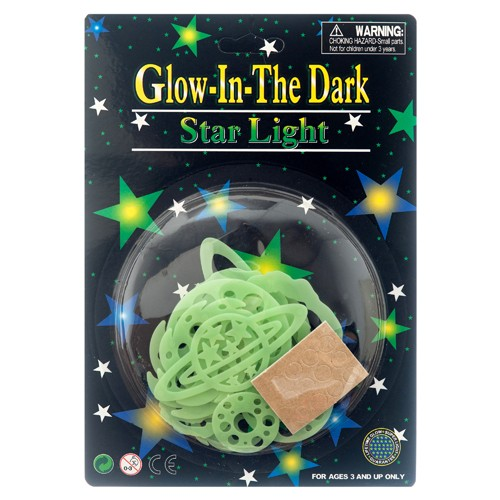 Item# CJ52935 - Glow in the Dark Universe Set (24pks @ $1.20/pk)