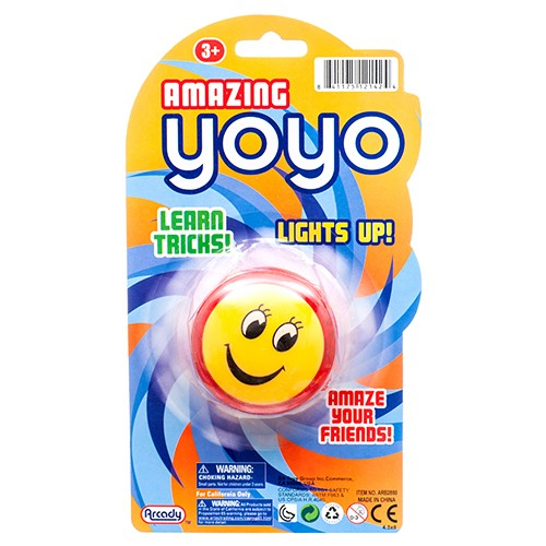 Item# CJ53826 - Light up YO-YO (48pcs @ $1.25/pc)