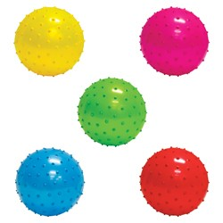 Item# A15KNOB - 5'' Inflatable Assorted Knobby Balls (250 pcs @ $0.35/pc)
