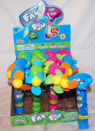 "BR67 - 5"" Fan Pop with Assorted Candy (12 pcs @ $1.40/pc)"