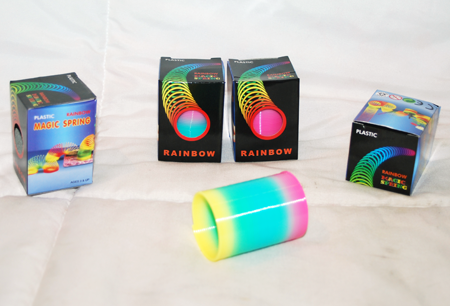 "CZSPRINGR - 3"" Rainbow Spring (12pcs @ $0.65/pc)"