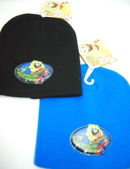 BEANIE2 - Spongebob Winter Beanies (12pcs @ $2.00/pc)