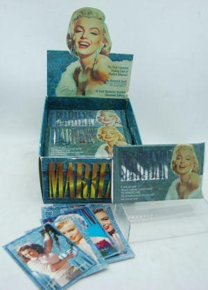 MARILYN - Marilyn Monroe Trading Cards (36pks @ $0.15/pk)