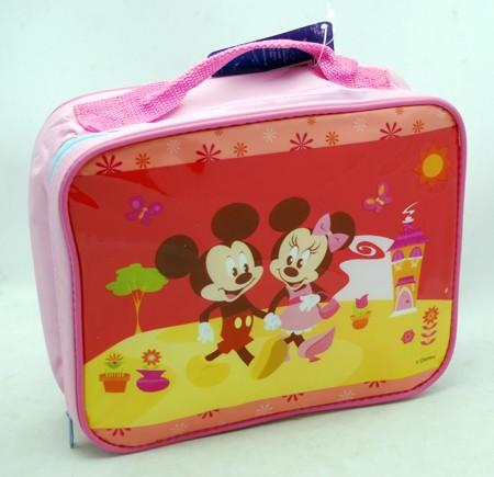 MMLKIT - Mickey & Minnie Thermal Lunch Kit w/ Velcro Close (6pcs @ $3.00/pc)