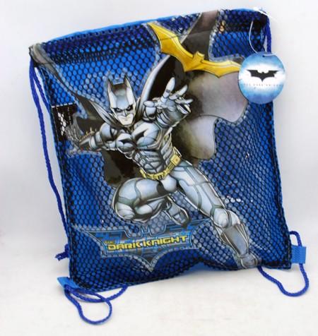 """NET15 - Batman Dark Knight 11""""x10"""" Net Bags (12pcs @ $2.00/pc)"""