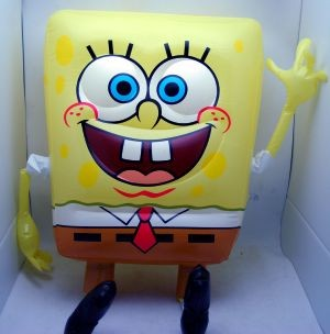 "SBINFLATE - Spongebob 24"" Character Inflate (12pcs @ $2.50/pc)"
