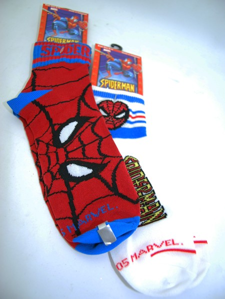 SMSOCK - Spiderman Socks (Boys 9-11)
