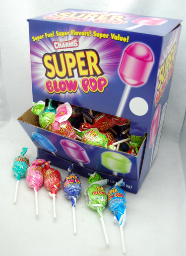 BLOWP - Super Blow Pops in Display Box (100pcs)