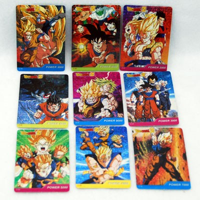"DRAGONBALLZ - 3.5"" Asst. DRAGONBALL Z Stickers (100pcs @ $0.25/pc)"