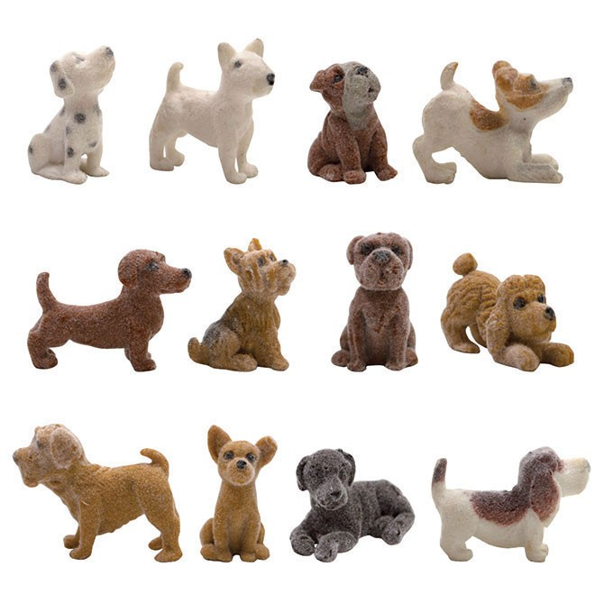 "Item# A1FUZFB - 1.5"" Fuzzy Friends Figurines (100pcs @ $0.20/pc)"