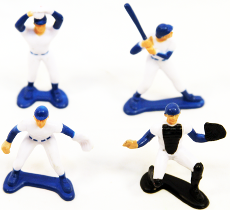 "BASEFIG - 2.5"" Painted Baseball Players (60pcs @ $0.22/pc)"