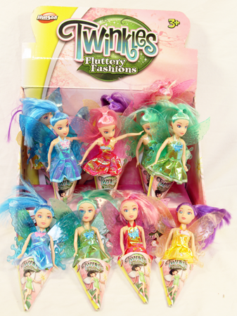 "FAIRY6 - 6"" Colorful Fairy Dolls in Display Box (12pcs @ $1.15/p[c)"