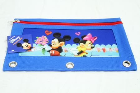 "NW10 - 10"" Diseny Mickey Fabric Pencil Pouch (12pc @ $1.40/pc)"
