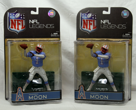 "TH8 - NFL Warren Moon Detailed Figure in 12"" Card  (each @ $7.95/pc)"