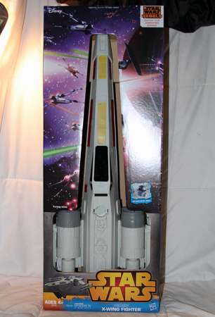 "BR354 - 30"" Licensed Star Wars X-Wing Fighter Jet (1 pc @ $29.50/pc)"