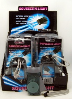 "LIGHTSQ - 4"" Squeeze n Light (12pcs @ $2.50/pc)"