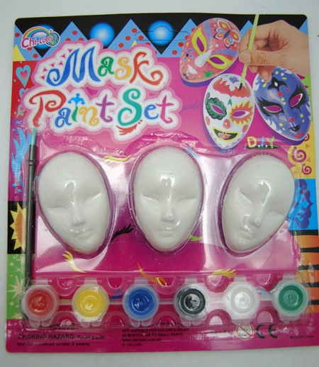 "MASKPAINT2 - 9"" Paint a Mask Art Set (12pcs @ $1.25/pc)"