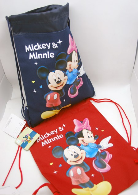 "MMSP  -  Mickey Mouse 15"" Canvas Sac Pacs (6pcs @ $3.50/pc)"