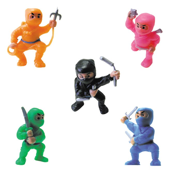 "Item# A1NIMEB - 1.5"" Ninja Fighters Figurines (100pcs @ $0.10/pc)"