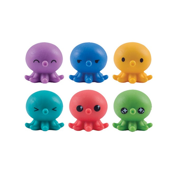 "Item# A1OCSQB - 1"" Octo Squishies Toys (100pcs  @ $0.15/pc)`"