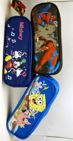"PENCSASST - Asst. 9"" Pencil Cases (12pcs @ $2.25/pc)"