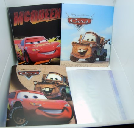 "PHOTO3 - Disney Cars 11"" x 9.5"" Glossy Photo Album (12pcs @ $1.50/pc)"