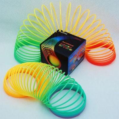 CZRS45... - 80mm Rainbow Coil Springs (12pcs @ $0.55/pc)