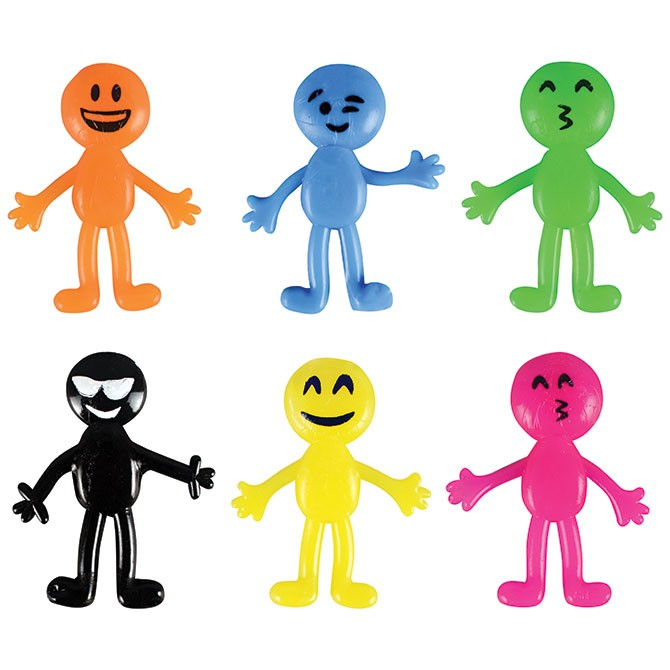 "Item# A1STEMB - 2"" Stretch Emojis (100pcs @ $0.10/pc)"