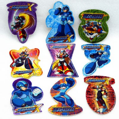 "STIMEGA - 4"" Megaman Stickers (100pcs @ $0.25/pc)"