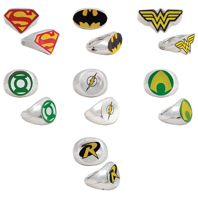 Item# A1WAR22B - DC Comics Power Rings (100pcs @ $0.15/pc)