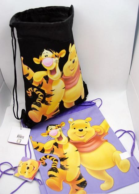 """WPSP  -  Winnie the Pooh 15"""" Canvas Sac Pacs (6pcs @ $3.50/pc)"""