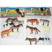 "FARM4 - 4"" Asst. PVC Farm Animals (60pcs @ $0.30/pc)"
