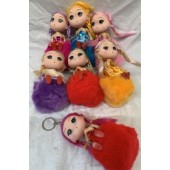 "CZFURDOLL - 5"" Cute Doll on Super Soft Furry Ball (12pcs @ $1.00/pc)"