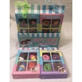 "CZERABX - 4pk Novelty Eraser Food Mix in 5"" Box (12pcs @ $0.95/pc)"