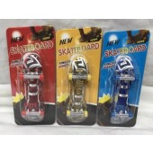 "CZSKATLI - Light Up Finger Skateboards on 6"" Card (12pcs @ $1.10/pc)"