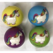 "CZUNIB - 2"" Soft Foam Unicorn Colorful Balls (12pcs @ $0.75/pc)"